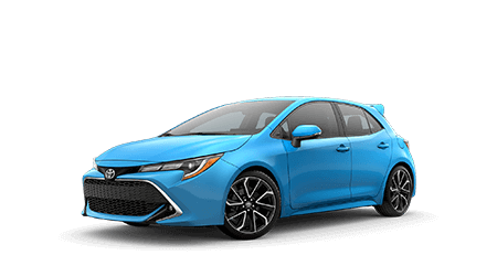 New 2020 Corolla Hatchback